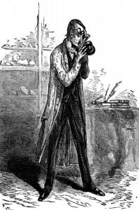 Otto Lindenbrock dessiné par Edouard Riou en 1864