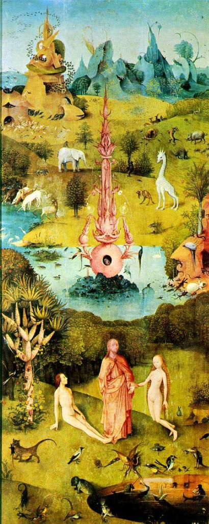 Panneau gauche - Le Jardin des Délices - Jérôme Bosch - 1503/1504