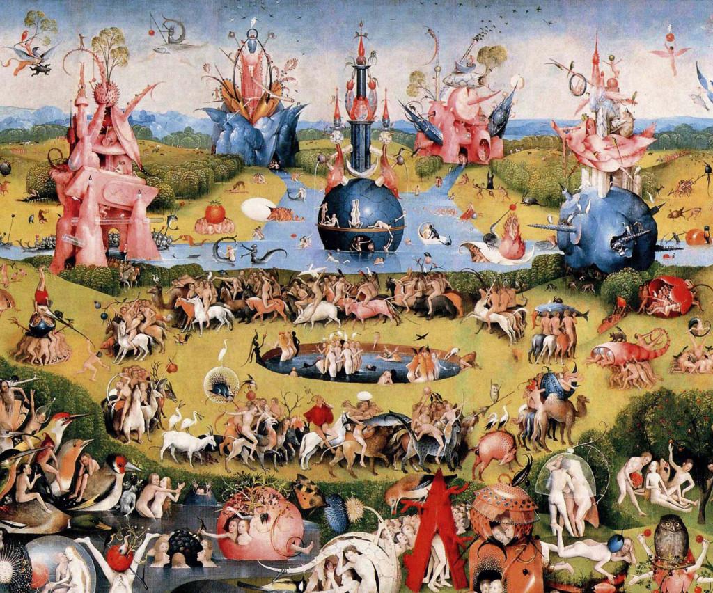 Panneau central - Le Jardin des Délices - Jérôme Bosch - 1503/1504