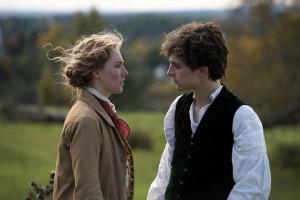Saoirse Ronan (Jo) et Timothée Chalamet (Laurie)