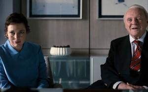 Anne (Olivia Colman) et son père Anthony (Anthony Hopkins)